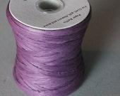 Raffia:  Purple Paper Raffia,  Raffia Ribbon, Ribbon, Purple Raffia, 100 yards