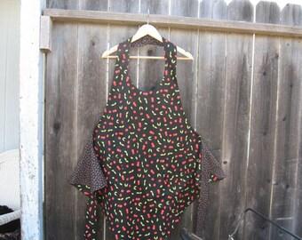 Reversible cherry apron