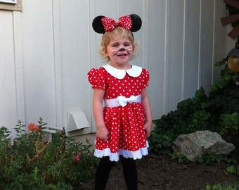 Custom made Minnie Mouse costume