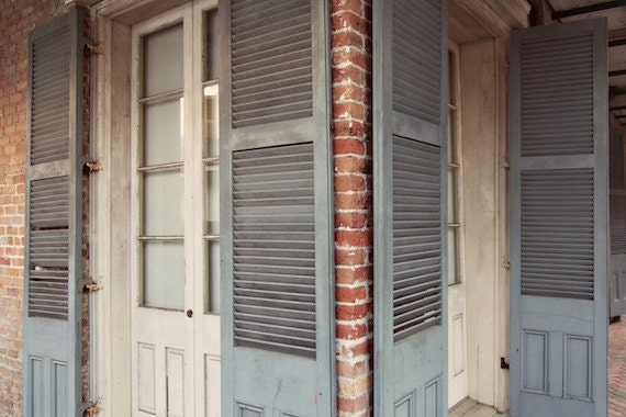 Items Similar To French Quarter Shutters New Orleans Fine Art Photograph On Etsy