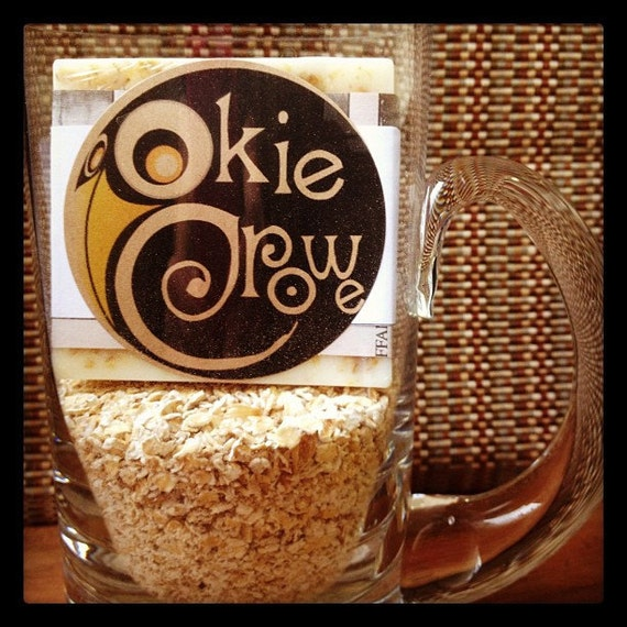 Okie Crowe Oatmeal Stout Beer Soap