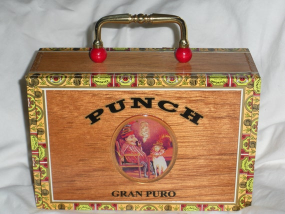 Punch Cigar Box Purse
