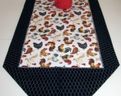 Cock-a-doodle-doo Table Runner