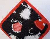 Retro Aprons Pot Holder
