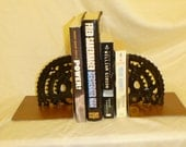 Bicycle gear book ends