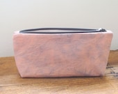 Hand Tie Dyed Pouch Make Up Bag