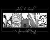 Photo Letter Art - Custom Name Letter Photography - 11x14 - LDS Wedding, Latter-day Saint