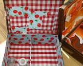 1940's treasure chest small suitcase make your memories last