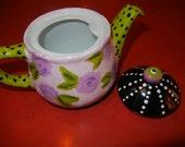 French Style Tea Pot