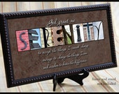 SERENITY prayer alphabet photography 10 x 20 inch print by ArtisticLetters
