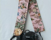 Strap Cover for DSLR camera - Made in Peru - Florcita by Lu100