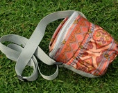 Camera Bag - Handcrafted in Peru - Fractal by Lu100