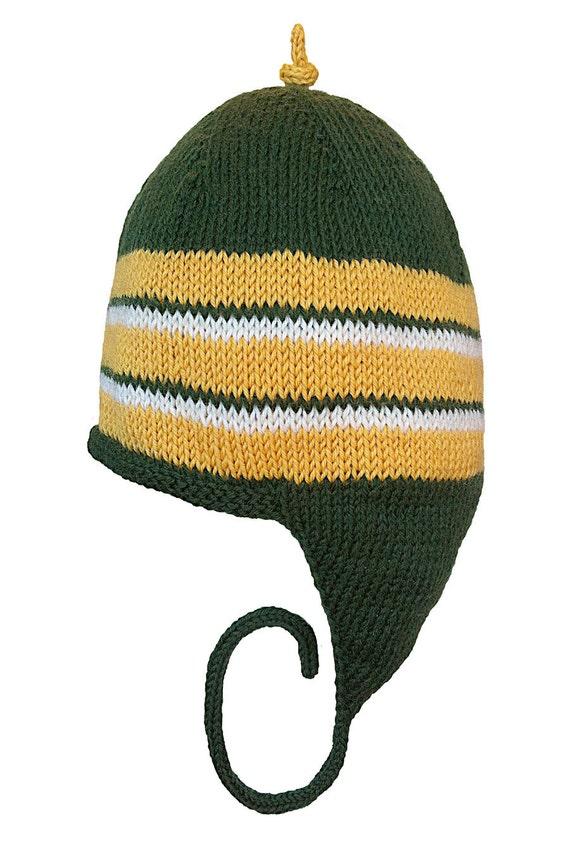 Hand Knit Earflap Hat Women, Men Handknit Earflap Hat, Teen Earflap Hat, Original Icelandic Design, Handknit Earflap Hat, FREE US SHIPPING