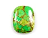 Green Copper Turquoise cabochon