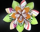 Origami Love Coupon Flower