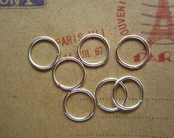 300pcs 10mm silver jump ring R13063