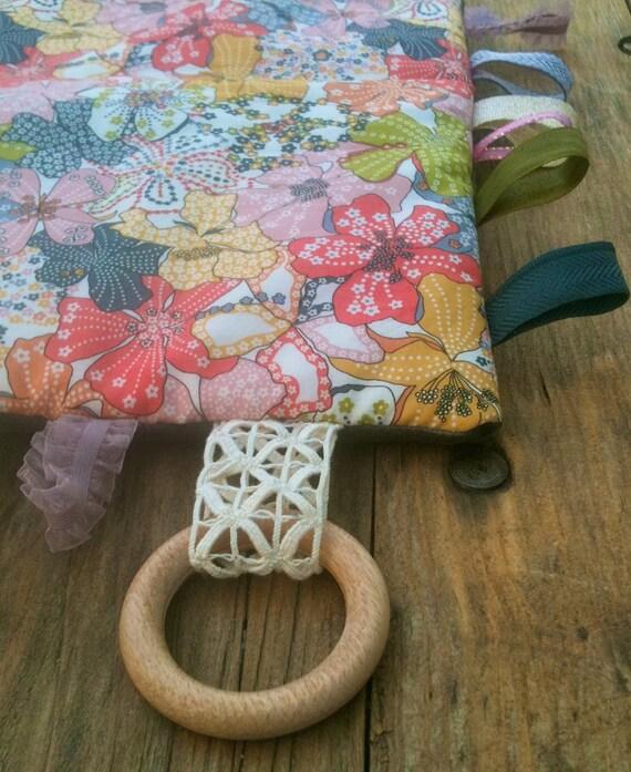 "Comforter ""Glaucous dog rose"""