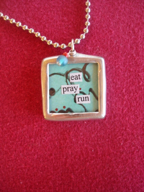 runners jewelry necklace