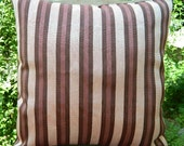 Natural hand woven  pillow cover