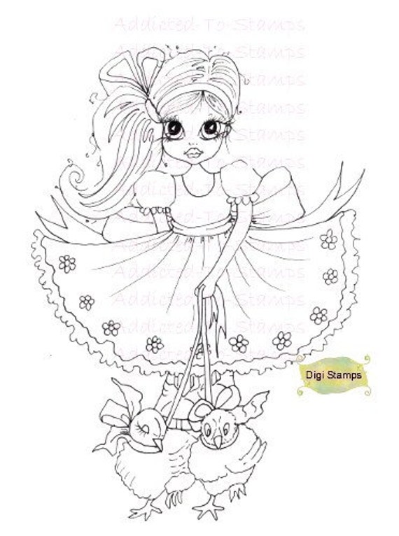 Items similar to Digi Stamps Nellies