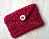 Crochet GIFT / BUSINESS / CREDIT card holder - customer favorite