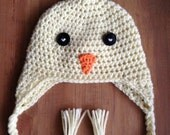 Crochet EASTER CHICK beanie hat photo prop - baby, toddler & child
