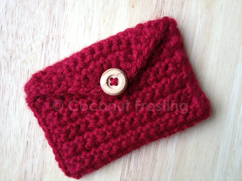 Crochet Card Holder – Craftbnb