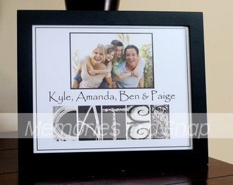 Personalized Name Print Add Your Own Photo Alphabet Photography Art 8x10 UNFRAMED by Memories in a Snap