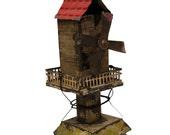 Shabby Metal Windmill Toy