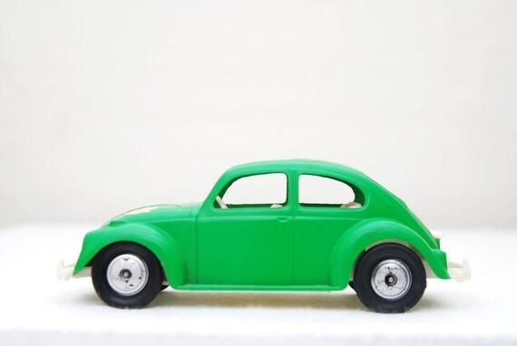 Green Hubley VW Toy Car Volkswagen