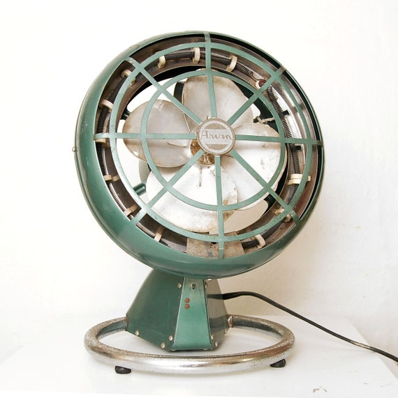 SALE Arvin Army Green Heater & Fan