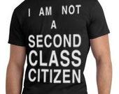 Official Second Class Citizens T-Shirt (Black)