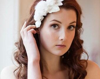 Magnolia Blossom Sparkle Floral Headdress