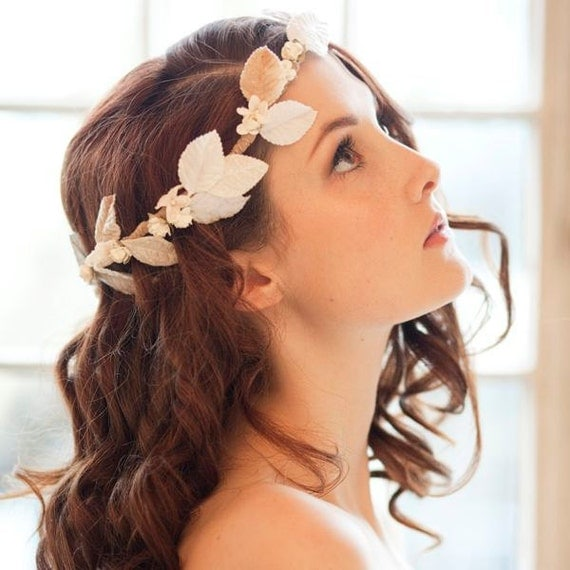 Velvet Blossom Millinery Bridal Crown
