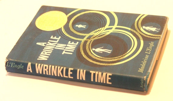 RESERVED for DEANNA Vintage Book A Wrinkle In Time by Madeleine L'Engle 1964 First Edition Ninth Printing Dust Jacket Newbery Award