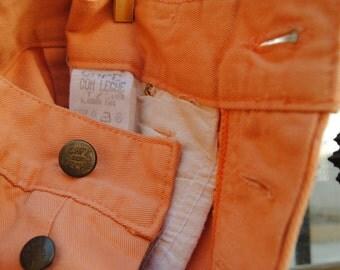 """Vintage Pants 80 High Waisted """"Café con Leche"""""""