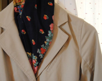 Vintage 90 Trench Raincoat Soft Beige