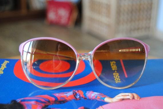 "RESERVED Vintage 70  Sunglasses Spanish ""Pamela "" by Fesan"