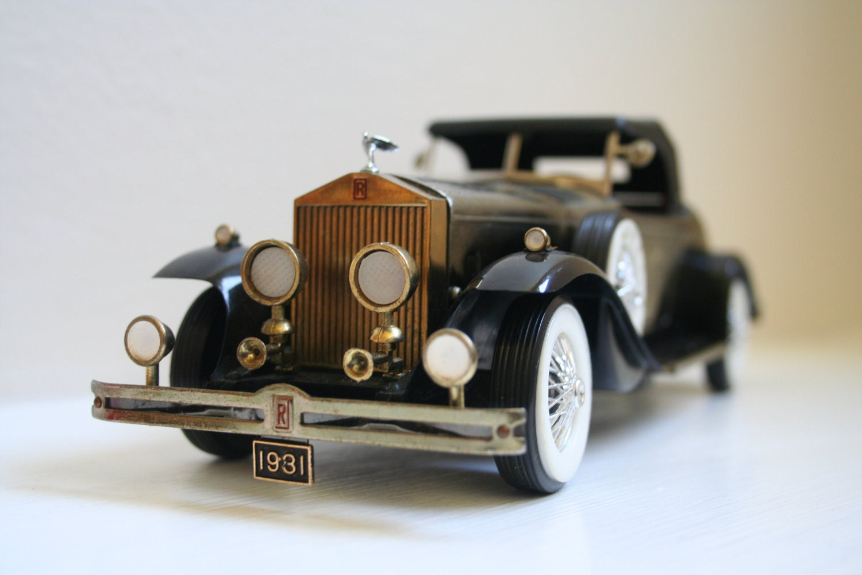 Vintage 1931 Rolls Royce Phantom Ii Diecast Model Car By