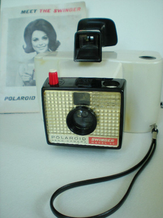 The swinger polaroid camera 1960 s