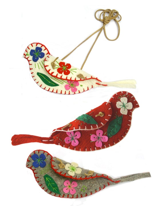 to make a small bag in the shape of a bird, sewing kit for 5-96 yrs