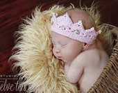 Newborn Jewel Encrusted Crown Photo Prop