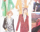 Pattern Blazer Simplicity 7522 Sewing - NEW Factory Folds - 5 Hour BEGINNER Friendly MISS 10-16