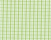 "Fabric Finders Lime Mini Check 60"" Wide 1yd."