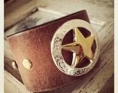 Star Concho Cuff