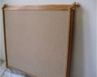 """Wooden Art Frame: Cherry Sticks 29"""" X 22 1/2"""""""