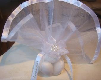 Wedding Favors - Wedding Bomboniera- Koufeta Favors - Sugared Jordan Almond Favors