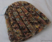 HANDKNIT HAND - Ribbed Hat, adult size - ships now