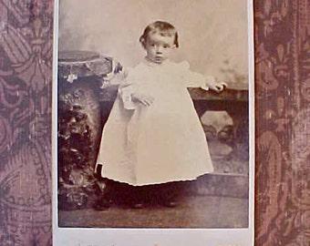 "Darling Victorian Photograph of baby ""Helen"" of Salt Lake City"