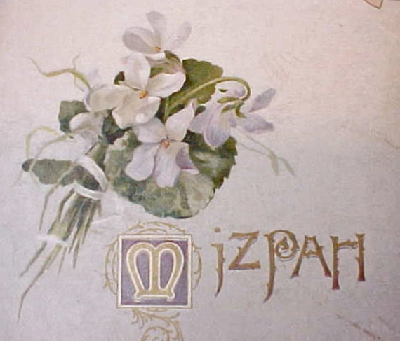 "Dearest 1890's Book-""Mizpah"" with Beautiful Illustrations-For Loved Ones Who Are Separated"
